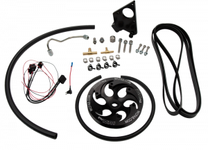 Fuel System - CP3 - Wehrli Custom Fabrication - LB7 Duramax Twin CP3 Kit Black Anodized Pulley