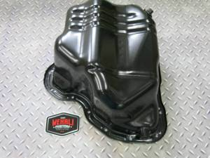 Engine Parts - Parts & Accessories - Wehrli Custom Fabrication - Lower Oil Pan with Turbo Drain Fitting LB7, LLY, LBZ, LMM