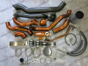 Turbo Chargers & Components - Turbo Charger Kits - Wehrli Custom Fabrication - 2001-2004 LB7 S400/Stock Twin Kit
