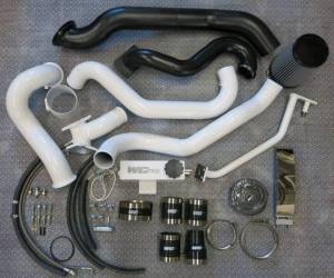 Turbo Chargers & Components - Turbo Charger Kits - Wehrli Custom Fabrication - 2004.5-2005 LLY Duramax S400/Stock Twin Kit