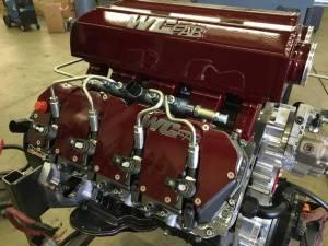 Engine Parts - Parts & Accessories - Wehrli Custom Fabrication - Duramax Billet Upper Valve Cover Set LLY, LBZ, LMM